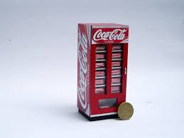 Mini Coca Cola Vending Machine
