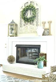 shelf above fireplace chimney decor styles and design medium size of living ideas stone mantel shelves