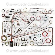 classic update series wiring harness system 510553 lectric classic update series wiring harness system