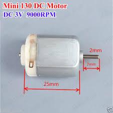 <b>3PCS DC 3V</b> 9000RPM Mini 130 Motor Small 130 DC Motor For ...