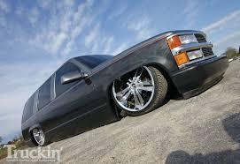 Tahoe 96 chevy tahoe parts : 1996 Chevy Tahoe - 24 Inch Rims - Truckin' Magazine