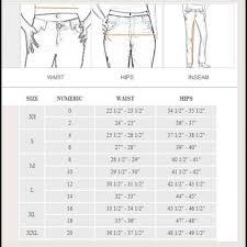 jean size converter womens jean sizing conversion chart edgrafik