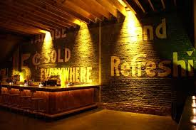 Cool bar lighting Home 20 Clever And Cool Basement Wall Ideas Hative Tripadvisor Cool Basement Bars Natashamillerweb