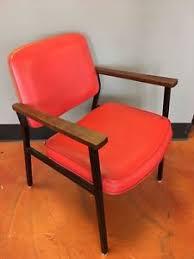 vintage metal office chair. Image Is Loading Vintage-1970s-Vinyl-Metal-Office-Chair-Waiting-Room- Vintage Metal Office Chair O