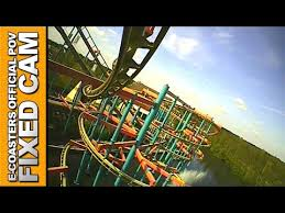 Dream Catcher Ride Dreamcatcher Bobbejaanland Roller Coaster POV On Ride Suspended 93