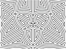 Coloring Related Post Geometric Patterns Colouring Pages Template ...