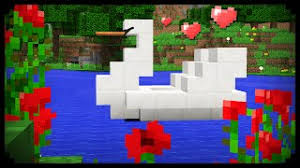 how to make a tv in minecraft. Minecraft: How To Make A Swan Boat Tv In Minecraft