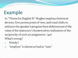 theme for english b thesis thesis statement on theme for theme for english b thesis