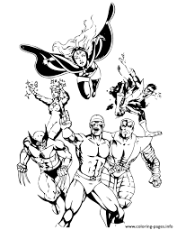 Cyclops colors by bdixonarts on deviantart. Classic X Men Comic Coloring Pages Printable