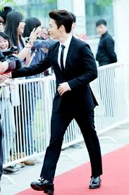140415 V Chart Yin Yue Tai Awards With Donghae Red Carpet
