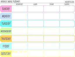Weight Loss Calendar Printable Weight Loss Calendar 2017 Meal Plan Template Word Elegant