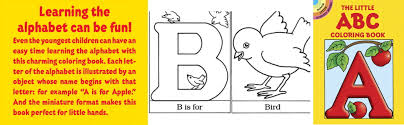 Publisher createspace independent publishing platform. The Little Abc Coloring Book Dover Little Activity Books Anna Pomaska 9780486251561 Amazon Com Books