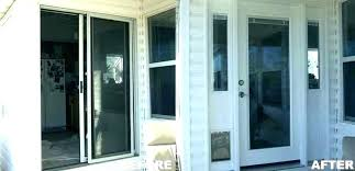cost to replace sliding door with french doors sliding glass doors glass replacement patio cost to replace sliding door with french doors multi large cost