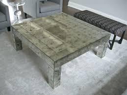 coffee table antique mirror round bernard antiqued square in tiles custom framed mi