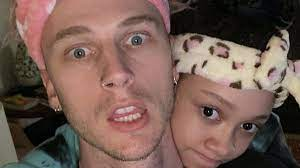 Machine Gun Kelly and his daughter are ...
