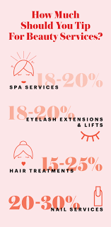 Hairdresser Tip Chart How Much You Should Tip For Beauty Services Allure