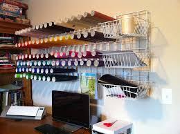 y pinecone easy gridwall vinyl organizer craft organizationcraft room storagediy