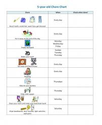Daily Routine Chart For 10 Year Old 10 Charts Thatll Help Get The Chores Done This Summer