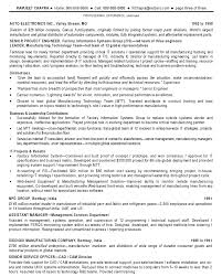 Technical Manager Resume Resume Template
