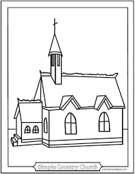 Color pictures of santa claus, reindeer, christmas trees, festive ornaments and more! 9 Church Coloring Pages Roman Catholic Churches Cathedrals Missions