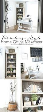 Extraordinary Create A Farmhouse Style Home Office Using Items From Better  Homes Gardens At Simple Office