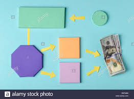 Algorithm For Making Money Colorful Paper Blocks Denoting