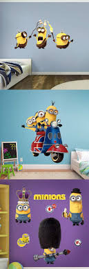 minions british invasion collection wall decal ad awesome ideas to decorate your home with