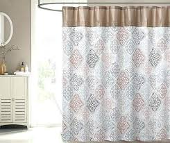 Coral Shower Curtain Gray And Tan Shower Curtain Tan Gray Coral