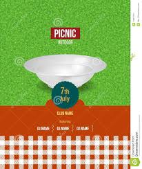 Picnic Template Picnic On Fresh Air Summer Invitation Poster Template Flyer