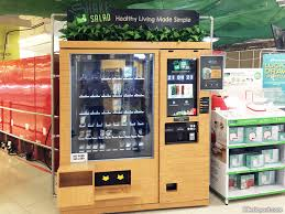 Shake Salad Vending Machine Location