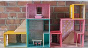 40 DIY Dollhouses That Are Ecofriendly Affordable And Super Easy Extraordinary Make Your Own Barbie Furniture Property