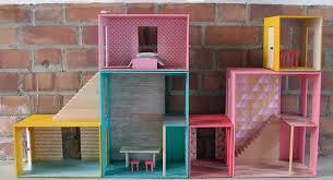 diy dollhouse all in one box dollhouse