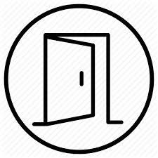 open door drawing. 512x512 Architecture, Building, Door, Estate, Open Property, Real Door Drawing