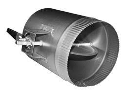 air conditioning damper. 6-in hvac duct manual volume air damper with handle conditioning