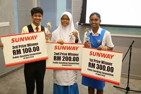 sunway english language development programme to improve english sunway public speaking competition 2015