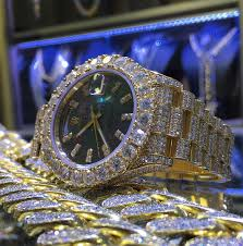 give the gift of diamonds this holiday season whether you want a custom platinum diamond watch or a classic rolex we have it all our diamond watches your man can enjoy the same level of bling