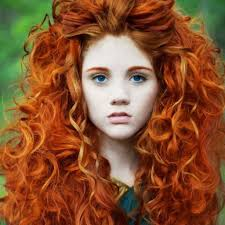 Natural Ginger Hair Colour