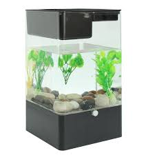 office desk fish tank. Fish Tank USB Interface Aquarium Integration Ecological Office Desk Goldfish Filter LED Light System 14.4X14.4X25.7cm-in Terrariums From Home \u0026 Garden On C
