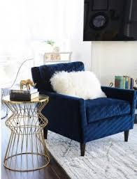 velvet accent chair. Gold Side Tables Velvet Accent Chair