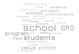 Assigning Value to Peel Regional Police's School Resource Officer ...