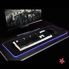 Miếng lót chuột laptop 35cm x 25cm có đèn led đầy màu sắc | Chuột Văn Phòng  Không Dây