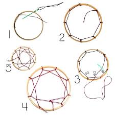 How To Make A Dream Catcher Web Dream catcher webbing really good tutorial on how to Web your 34