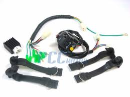 pitbike headlight kit lights light xr50 crf50 blk lt06 Crf50 Pit Bike Wiring free image hosting at www auctiva com dirt bikes 50Cc Pit Bike