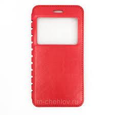 <b>Чехол</b>-<b>книжка</b> для ZTE Blade А465 (<b>New Case</b>, красный) купить с ...