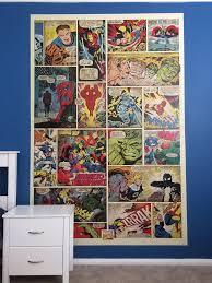 Marvel Bedroom Marvel Comic Mural In Boys Bedroom Dalkeith Kevin Pratt