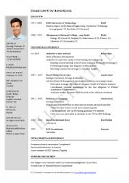 Download Update Resume Free