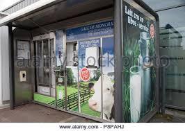 Raw Milk Vending Machine Amazing RAW MILK VENDING MACHINE LANGEAC 48 FRANCE Stock Photo