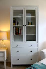 ikea hemnes glass door cabinet white designs