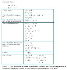 solving systems of equations by substitution worksheet and 22 inspirational graph substitution method worksheet answers