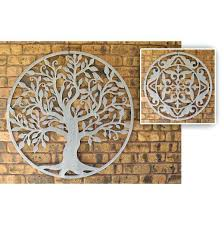 indian metal wall decor art round black laser cut matt with s metal wall art decor